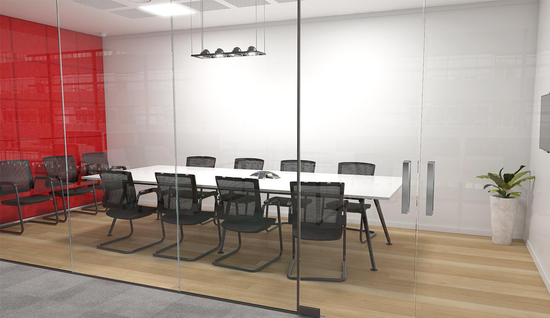 Team Table Meeting Room