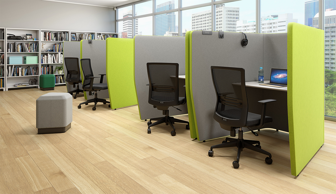 MotionOffice Zip with Blade Seating