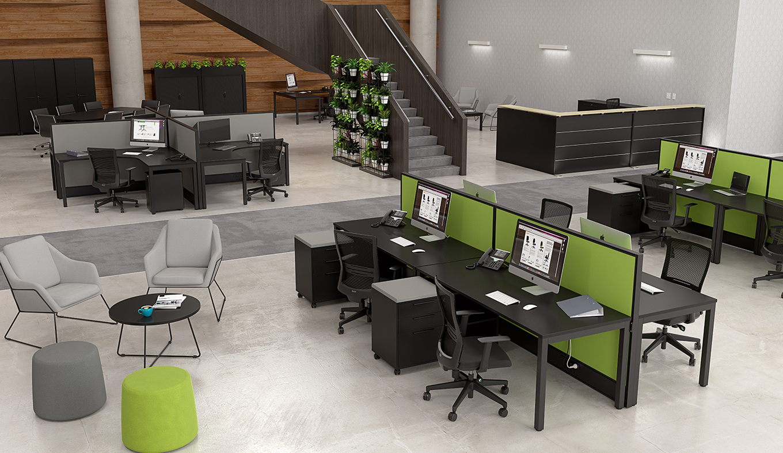 Cubit Black Large Office