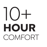 10 Hour Comfort Rating