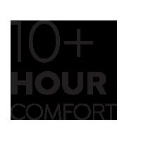 10 Hour Comfort Rating