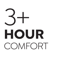 3 Hour Comfort Rating