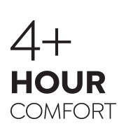 4 Hour Comfort Rating