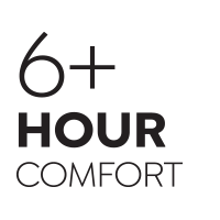 6 Hour Comfort Rating