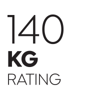140kg Weight Rating